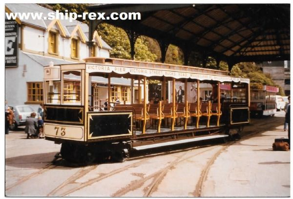 Douglas Cable Tramway (Isle Of Man), restored Cable Car - photo